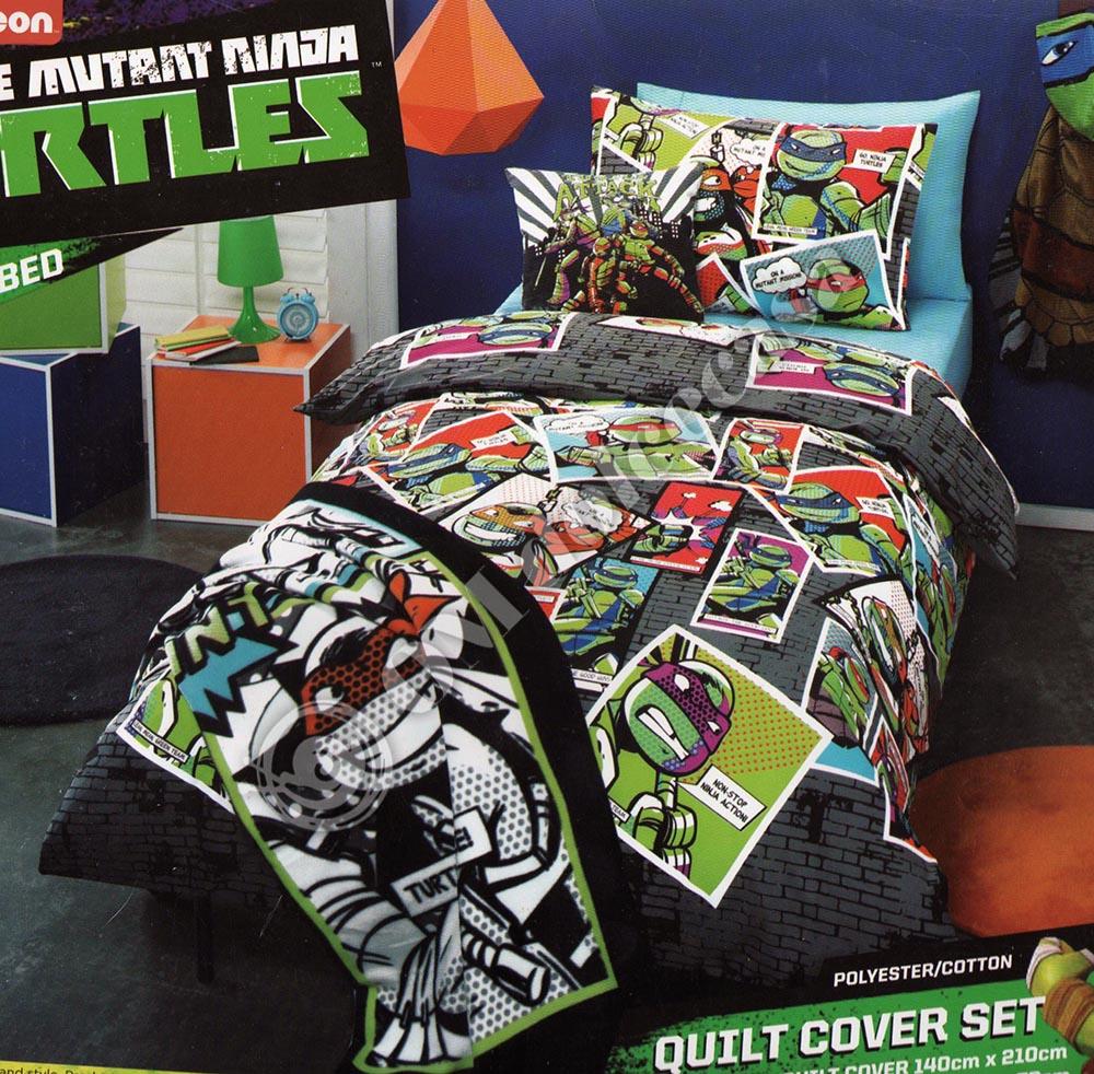 Sacco Copripiumino Maxi.Copripiumino A Sacco Tartarughe Ninja Maxi Stampa Digitale Fotografica